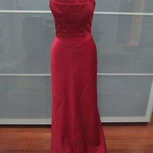 "Cache ""Odessa"" Full Length Spaghetti Strap Gown"